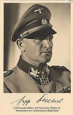 卐 SS-Oberst-Gruppenführer und Generaloberst der Waffen-SS Josef Sepp Dietrich