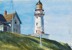 Edward Hopper - Light at Two Lights