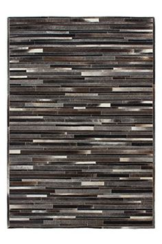 Teppich Design Rug Lavish 110 Grau-Braun 100% Leder 80x150cm https://www.amazon.de/dp/B01FI0P524