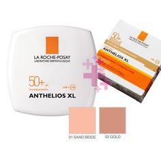 La Roche Posay Anthelios Compact Creme SPF 50+, 01 (Sand Beige) 9 g -Yüz için yüksek koruma faktörlü pürüzsüz ve doğal görünüm sağlayan kapatıcı