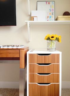 PANYL + This Blonde Bee Ikea Hack and Office Inspo!