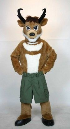 Seymour - Custom Mascot Costume for the Bureau of Land Management Fancy Costumes, Carnival Costumes, Mascot Costumes, Costume Accessories, Tigger, Fancy Dress, Badass, Deer, Disney Characters