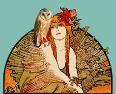 'Owl Lady' by Sandy Davidson