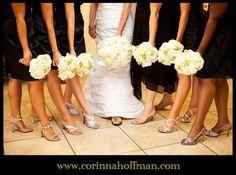 © Corinna Hoffman Photography - www.corinnahoffman.com - St. Augustine, Florida - Jacksonville, FL and  St. Augustine, FL Wedding Photographer - Bride - Bridesmaids - Bouquets