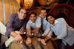 Pier Giorgio, Stefano, Pierangelo and Giancarlo Tommasi