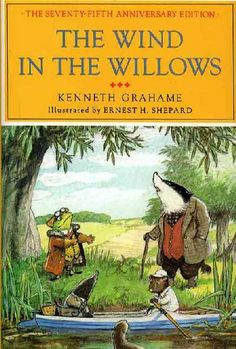 """All this he saw, for one moment breathless and intense, vivid on the morning sky; and still, as he looked, he lived; and still, as he lived, he wondered.""  ― Kenneth Grahame, The Wind in the Willows"