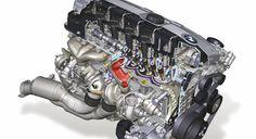 BMW N54 straight six engine