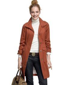Keegan Wool #Coat #forher @L.L.Bean via Catalog Spree! $349.00