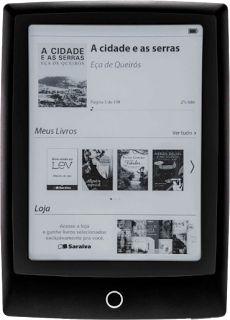Leitor de Livro Digital da Saraiva - Lev