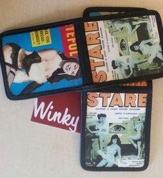 Vintage Winky&Dutch Black  WALLET  Betty Page by WinkyDutchCoStore