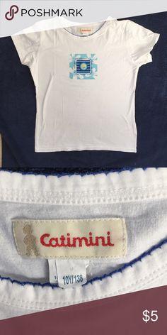 Catimini short sleeve T-shirt Catimini short sleeve T-shirt. Size 10. Catimini Shirts & Tops Tees - Short Sleeve