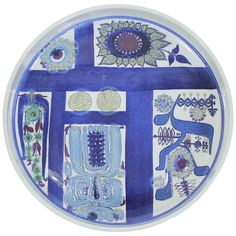 Danish Modern Ceramic Plate by Royal Copenhagen | From a unique collection of antique and modern ceramics at https://www.1stdibs.com/furniture/dining-entertaining/ceramics/