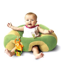 Support Seat.  This looks so much more comfortable than a Bumbo seat