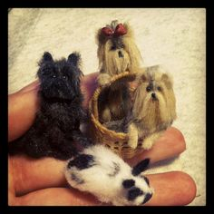 Bridget McCarty's Plush Pets 1:12: New Miniatures For Chicago International
