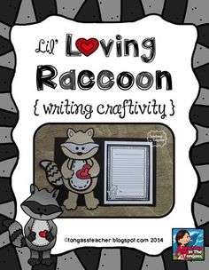 Raccoon Craftivity $