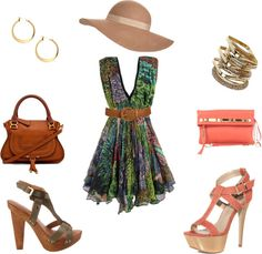 Summer Outing, created by francheskab on Polyvore