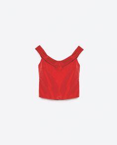 Image 8 of BALLERINA NECKLINE TOP from Zara