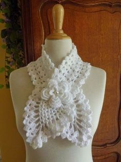 Knitting And Beading Wedding Bridal Accessories and Free pattern: New scarfs