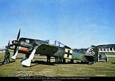 Focke-Wulf Fw 190A-3 - 2/JG 51, 1942