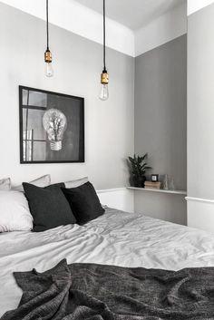 Klein maar fijn appartement | Stek Magazine | Scandinavian Homes | Appartment | Small living space | Bedroom