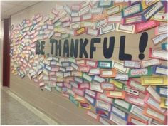 We Are Thankful! | 31 Incredible Bulletin Boards For Back To School