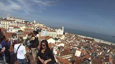 La ciudad de Lisboa desde las alturas