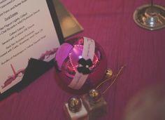 DIY christmas ornament wedding favor