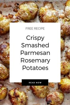 Delicious and easy parmesan rosemary potatoes! Side Dish Recipes, Lunch Recipes, Yummy Recipes, Great Recipes, Whole Food Recipes, Vegetarian Recipes, Favorite Recipes, Yummy Food, Vegan Side Dishes