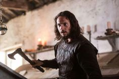 I love his character. Athelstan was born to a family who could not afford to care for him, so they gave him up to the monastery. Eventually Athelstan came to find reward in his Christian faith, which he believes in deeply. Although Ragnar treats him decently, Athelstan struggles to keep his faith in the Nordic pagan society. Ragnar trusts him to look after his children while he is away. He has sworn a vow of celibacy, which he takes seriously.