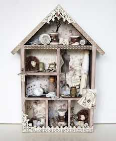 Imaginarium Designs: sewing house, box and layout