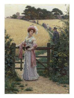 Sunday Morning, 1891- Edmund Blair Leighton
