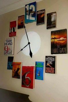 Reloj con #libros