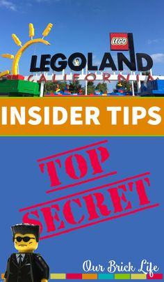 Legoland TOP SECRET Insider Tips via Our Brick Life
