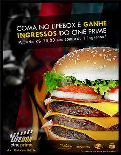 Cliente: Lifebox / Proposta: Anúncio da promoção LIFEBOX - CINEPRIME / Desenvolvimento: Igor Alves
