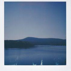 Mount Tom and the CT river #polaroid #polaroidcamera #polaroidsx70
