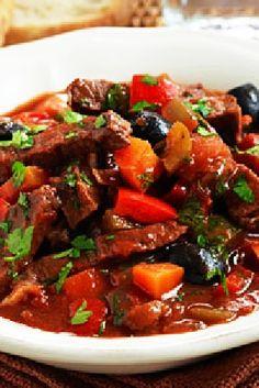 Low FODMAP and Gluten Free Recipe - Italian-style beef stew Fodmap Recipes, Gluten Free Recipes, Beef Recipes, Cooking Recipes, Healthy Recipes, Fodmap Diet, Low Fodmap, Fodmap Foods, Recipes
