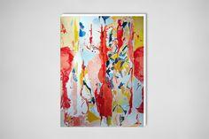 "L Verkler; Watercolor, Painting ""Spring dance"""