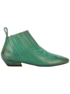 MARSÈLL Square Toe Boots. #marsèll #shoes #boots