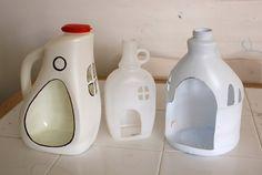 Werft ihr leere Schampooflaschen und Reinigungsmittel-Verpackungen einfach weg? Wenn ihr diese geniale Ideen seht, wird euch klar, dass es ein Fehler wäre, dies zu tun. Es können daraus nämlich praktische Haushaltsobjekte hergestellt werden; und euren Kindern werden sicherlich die kreativen Stiftehalter gefallen.