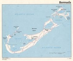 Bermuda is made up with over 100 different islands..  but only 20 of them are livable.  connected by bridges.