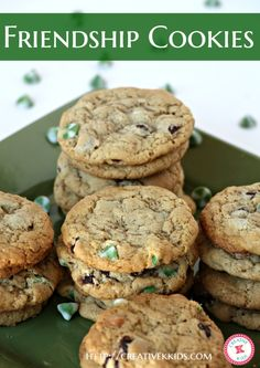 A favorite cookie of our family called Friendship Cookies--your friends will love you if you make these cookies for them! The Ultimate Pinterest Party, Week 40
