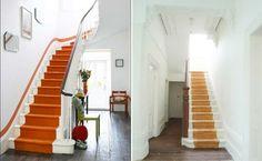 5 Ideen für Treppenläufer und Teppiche für Holztreppen