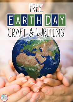 FREE craft and writing activity that is perfect for Earth Day! Students will create the Earth using tear art and write about how they can heal the Earth!
