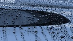 beading water on car