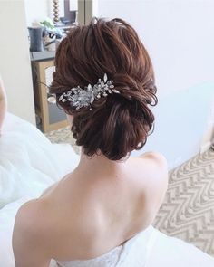 Yukari Ogaya H&MUAさんはInstagramを利用しています:「Hawaii wedding...🍾 シニヨンxビジューアクセ . 丁寧に品良くまとめて✨✨✨ . . 自分史上最高の可愛いを目指しましょっ💫 . Hair&makeup by @yukariogaya #ハワイ#ハワイウェディング…」 Hawaii Wedding, Bridal Hair, Hair Styles, Modern, Instagram, Fashion, Moda, Trendy Tree, Hairdos