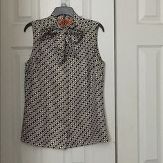 Tory Burch ,100% Silk, Dress up or down Very nice chick blouse Tory Burch Tops Blouses