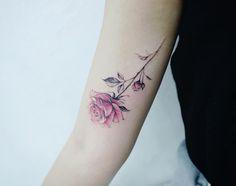 Fancy rose by Tattooist Banul