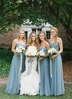 Whimsical outdoor wedding: http://southernweddings.com/2017/03/02/best-southern-weddings/