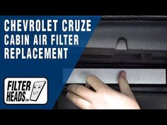 89 Chevrolet Cabin Air Filter Replacement Videos Cabin Air Filter Cabin Filter Chevrolet