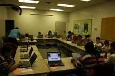 Karla Campos running a Keys2Work workshop for the students of the Goodwill Good Guides Youth Mentoring program